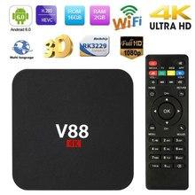 Smart TV Receiver TV Box Android TV Box Tv Tuner Box Wireless HD Internet H.265 Quad Core 4K