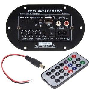 Image 1 - New TA8200AH Peak Power 120W High Power Car Subwoofer Hi Fi Bass Amplifier Board Support TF USB DC12V/24V/AC100V 240V 12003141
