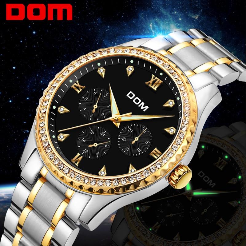 Gold Wrist Watch Men 2018 Top Brand Luxury Famous Male Clock Quartz Watches Wristwatch waterproof Relogio Masculino M-39G-1M gold wrist watch men 2018 top brand luxury famous male clock quartz watches golden wristwatch relogio masculino m 39g 1m