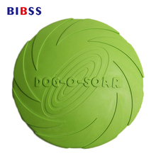 2017 Promotion Special Offer 17.5cm 15cm Frisbee Dog Toys Eco-friendly Rubber For Training Small Medium Large Dogs Flying Discs
