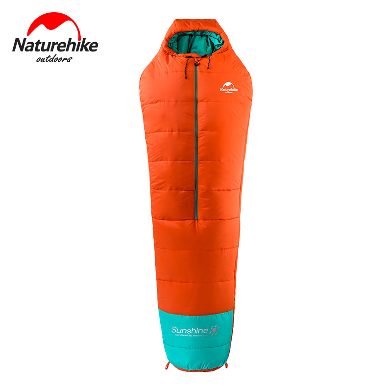 Naturehike NH17S013-D Mummy Cotton Sleeping Bag Middle Zipper With Compression Pack for Backpacking Hiking CampingNaturehike NH17S013-D Mummy Cotton Sleeping Bag Middle Zipper With Compression Pack for Backpacking Hiking Camping