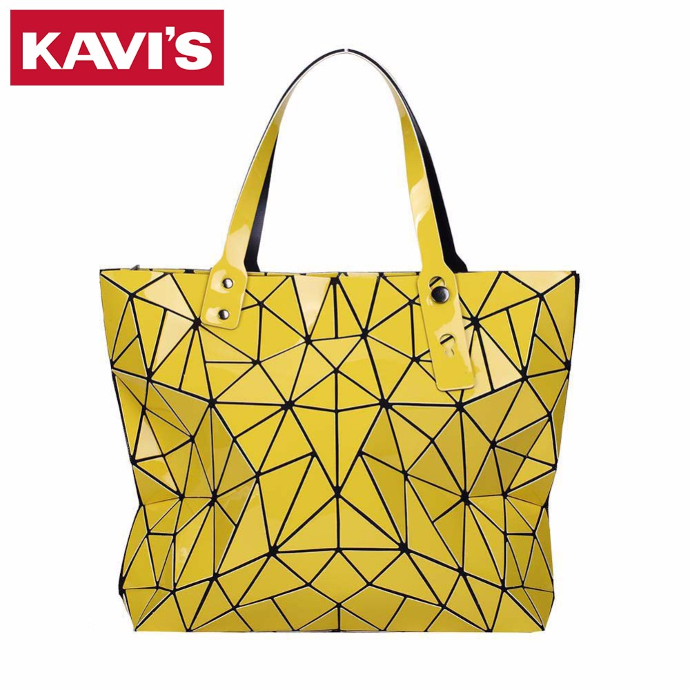 Fashion Diamond Lattice Women Bao Bao Bags Geometry Quilted Baobao Handbag bag Women 2017 Geometric Tote