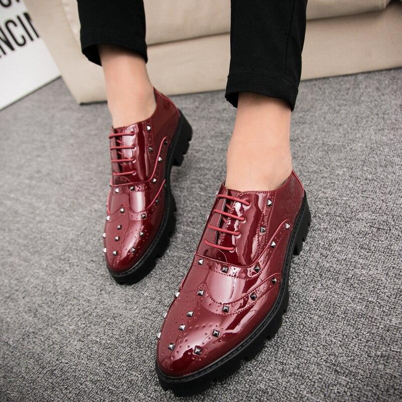 Se L'usure Portable Robe Des Chaussures Hommes Glissement Élégant À Résistant Rouge D'affaires Sur Se Mâle Noir Pour hon Confortable Sociale Hei ZqrwRSZ6