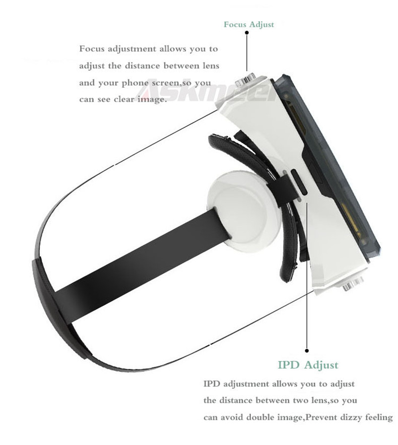 3D VR Glasses Headset    Virtual Reality Google Helmet Cardborad gafas   oculos 3d (14)