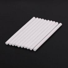 10 шт. 8 мм* 130 мм Фильтры увлажнителей ватные палочки для USB воздуха ультразвуковой увлажнитель Арома диффузор запасные части можно отрезать