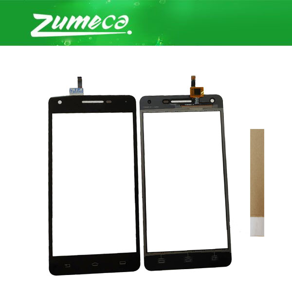 Touchscreen Black-Color Philips Xenium Digitizer Glass For V377 With Tape High-Quality
