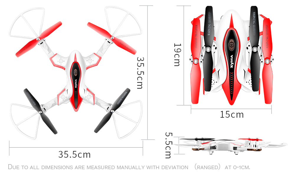 2017 SYMA Newest design Drone Folding Quadrocopter X56W 0.3MP Camera With Wifi Real-time Sharing Flashing Light RC Helicopter mini drone rc helicopter quadrocopter headless model drons remote control toys for kids dron copter vs jjrc h36 rc drone hobbies