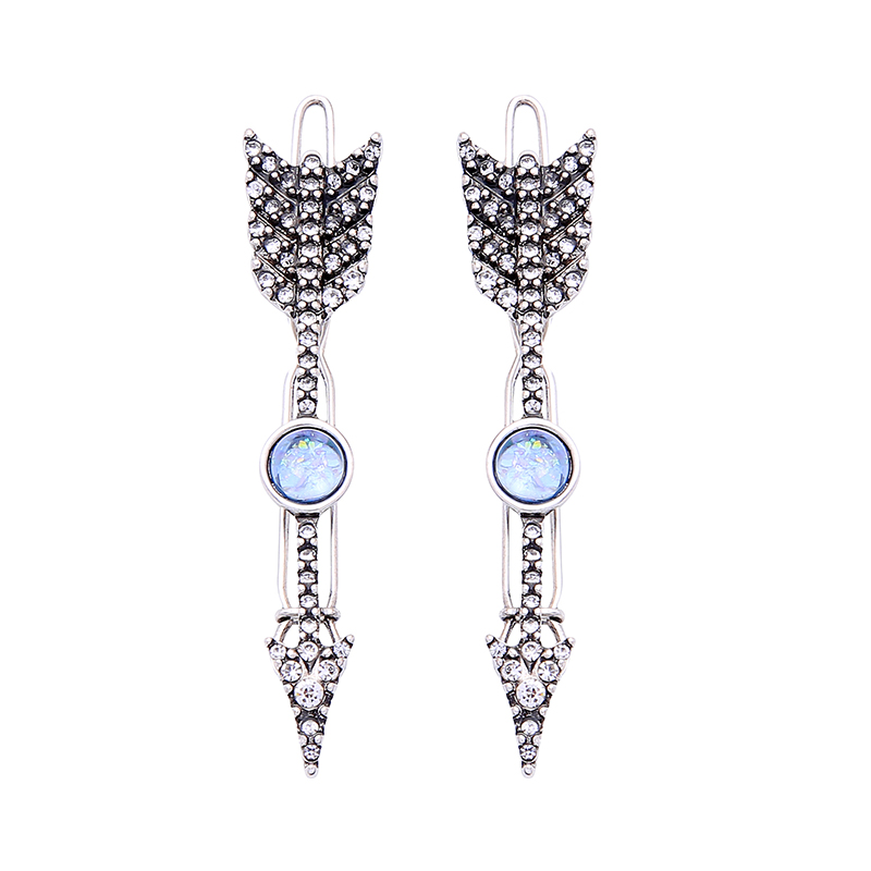 Bohemia Ethnic Vintage Resin Arrow Hairpin Set For Women New Arrival Hairpin Wholesale Handmade Unique Gift Hairpin Jewelry