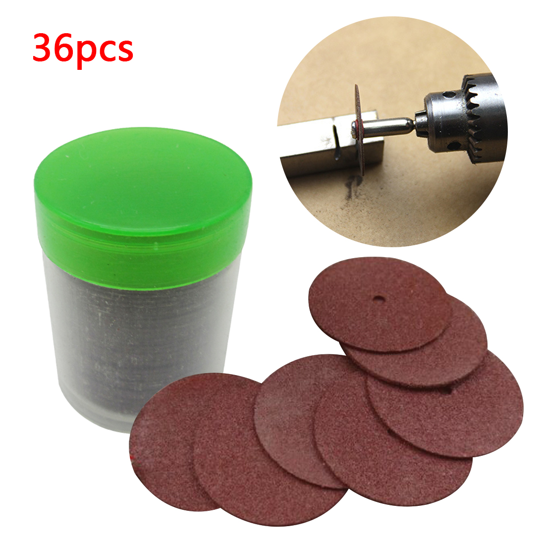 New 36Pcs Cutting Disc Circular Saw Blade Grinding Wheel For Dremel Rotary Tool Abrasive Sanding Disc Tools Cutting Wood Metal