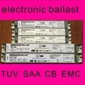 1*54w 1*55w balast balastro 54w 55w ballast 55w T5 electronic ballast for fluorescent lamp t5 1 x 54W 55W