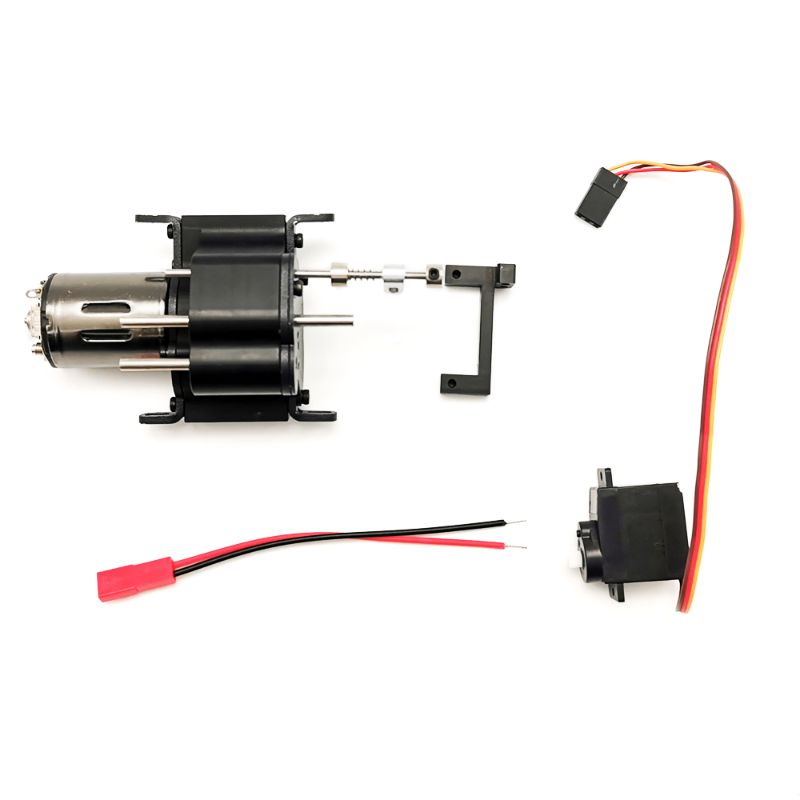 New Hot Fast Slow All-metal Two-Speed Gearbox DIY Upgrade Parts for RC WPL MN 4WD 6WD Climbing Off-road Car Accessories