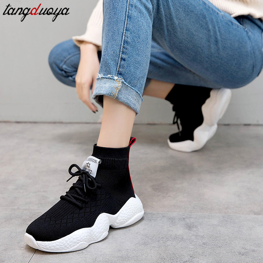 Spring Running Shoes For Women High Top