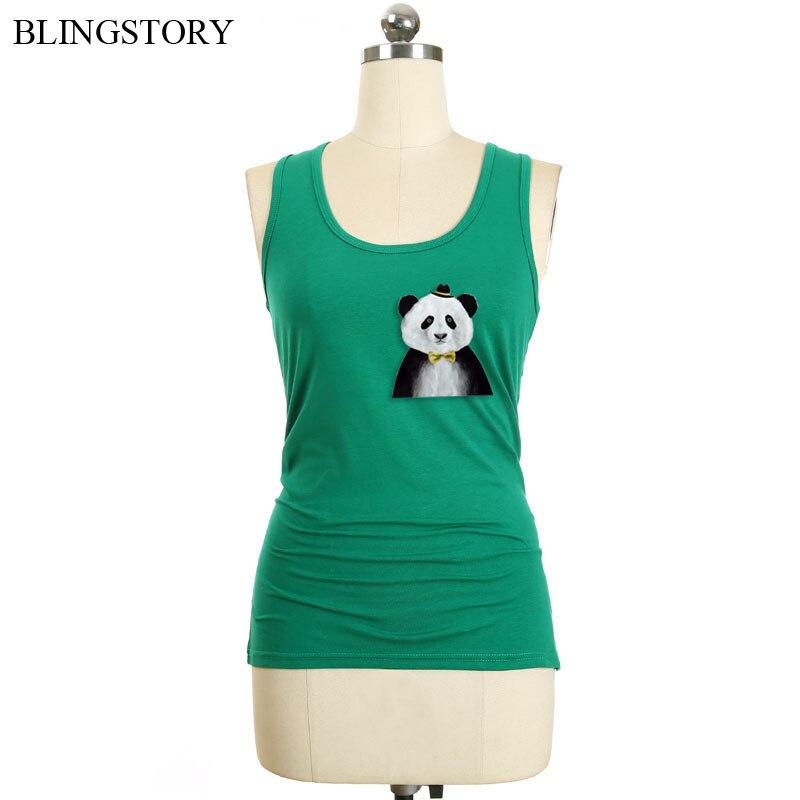 BLINGSTORY Racerback Candy Color Sleeveless Top Women Summer Cotton Basic Plus Size Tank Womens Tops Vest S-6XL LP49961A