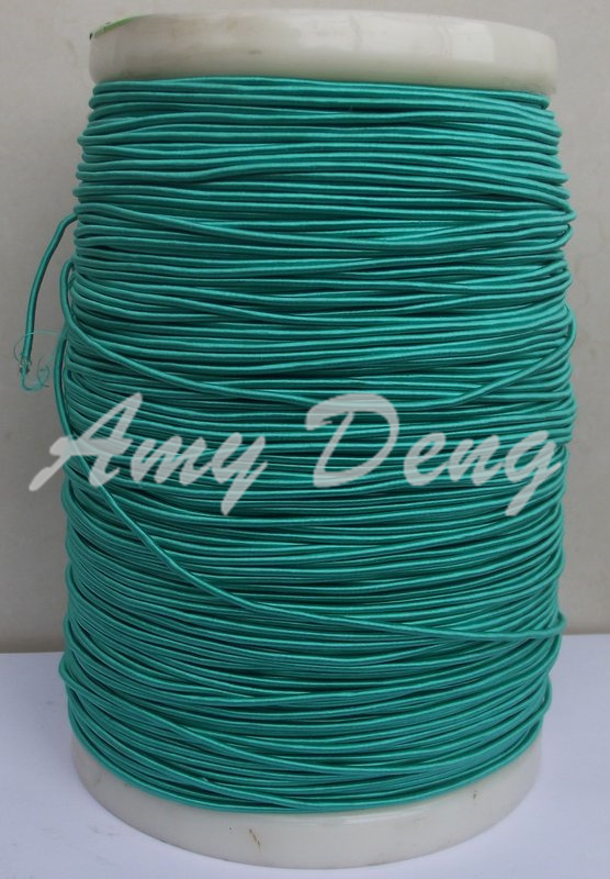 10 Meters/lot  0.04X1200 Shares Its High-frequency Sound Strands Of Green Silk Cotton Litz Wire