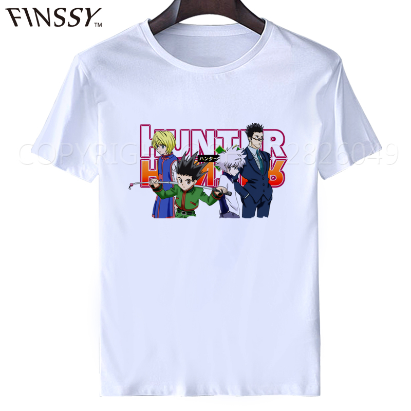 2017 New Famous Anime Hunter X Hunter T Shirt Tops Tees GON FREECSS Anime Shirt Moster Hunter t-shirt tops