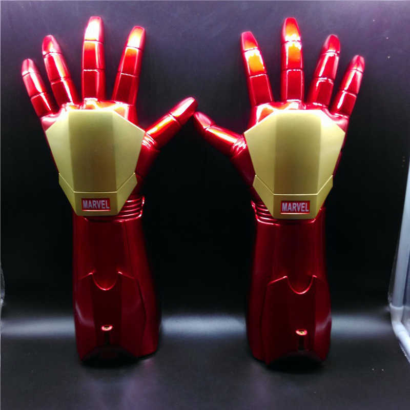 The Avengers 4 Endgame Marvel Superhero Hulk Cosplay Arm Thanos Latex Gloves Iron Man Infinity Gauntlet Kids Adult Cosplay Prop