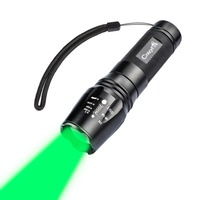 Bright LED Flashlight 2000 Lumen CREE XM L T6 18650 Lantern Torch Lamp For Camping Hunting