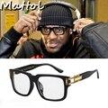 Mattol 2017 Lebron James Gafas de Sol Hombres mujeres Gafas de Sol de Diseñador de la Marca de Lujo Celebrity Hip hop sport square Eyewear frame