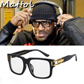 Mattol 2017 Lebron James Sunglasses Men women Sun Glasses Brand Designer Luxury Celebrity Hip hop sport square frame Eyewear