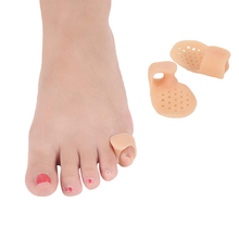 1Pair Little Toe Thumb Daily Use Silicone Gel Bunion Guard Foot Care Finger Separator