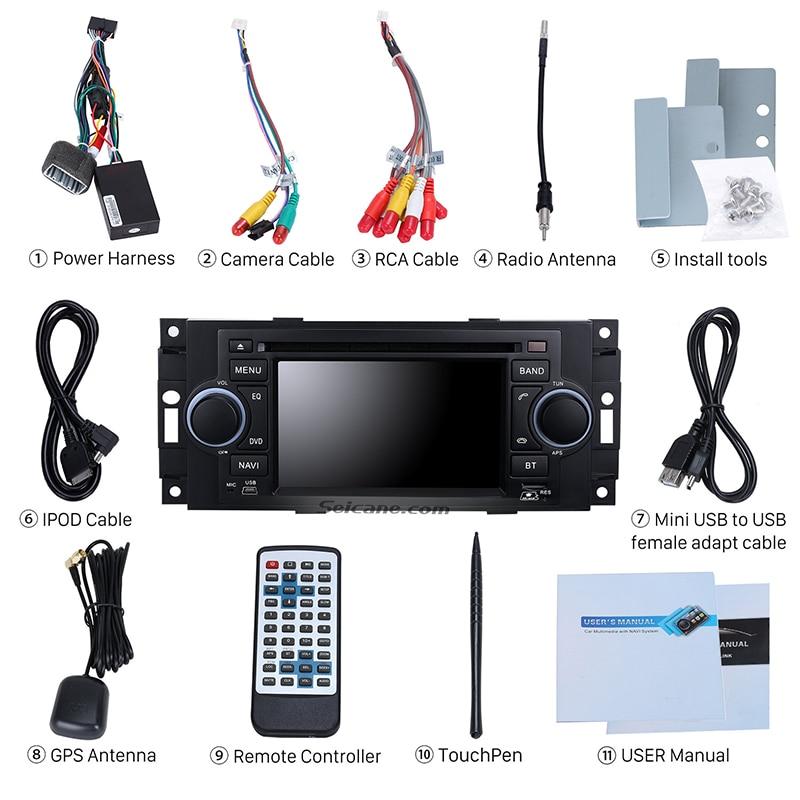 seicane in dash radio gps navigation dvd player for 2002 2008 rh aliexpress com
