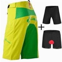 Cube Shorts Men Cycling Downhill MTB Bicycle Shorts 3D Padded Underwear 4 Color Cube Cycling Shorts