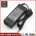 Welcome Bulk Order 19V 3.95A 75W 5.5*2.5mm Universal Replacement Laptop AC Adapter Power Supply Charger for Toshiba Satellite