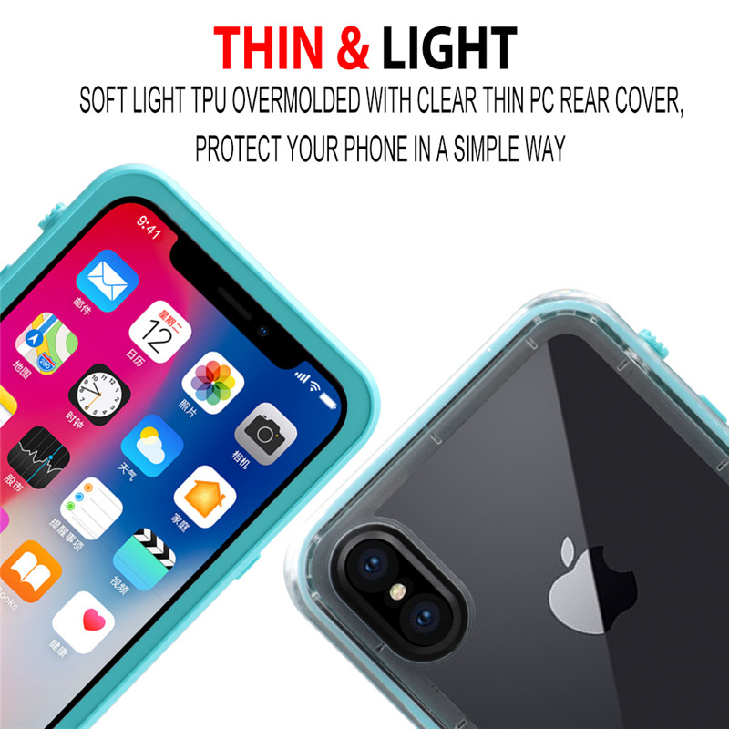 for iPhone X waterproof case (1)