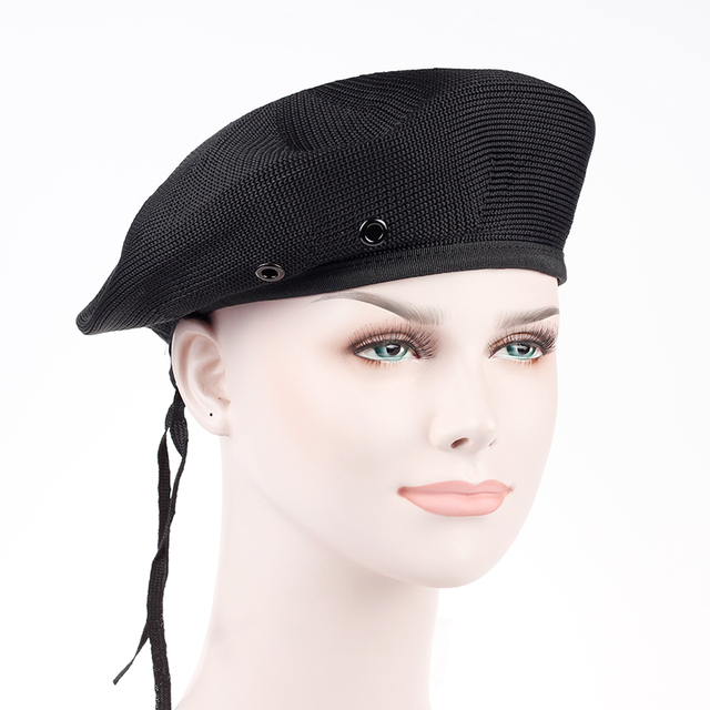 02e21e3a High Quality Polyester Special Forces Military Berets Caps Mens Army beret  caps Outdoor Breathable Casual Beanie hats wholesale