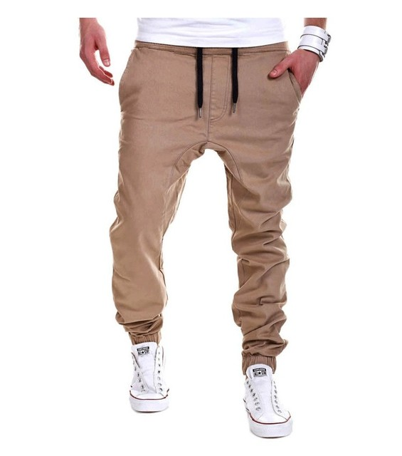 pants new 2017 hip-hop drop crotch sweatpants yeezy boost harem trousers H987