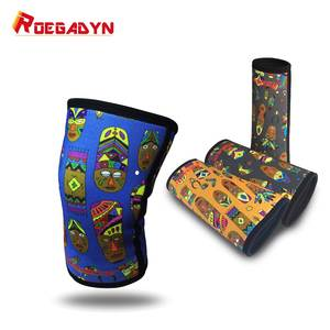 7mm Unique Gym Little Elastic WeightLifting Compression Neoprene Knee Sleeves Squats Knee Joint Support Brace,better protection