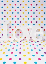 Poka dots lovely gifts Photography backdrops for valentine's photography studio photo background camera fotografia