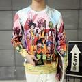 Classic Anime Dragon Ball Z Sweatshirt Long Sleeve Outerwear Men Women Hipster 3D print Super Saiyan Goku Crewneck Pullovers