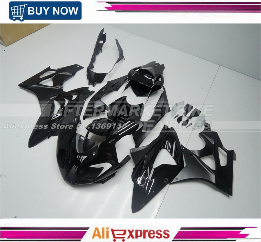 Complete Fairing Kits For BMW S1000RR 2009 2010 2011 2012 2013 2014 Injection Motorbike Fairing Body OEM GLOSS BLACK car usb sd aux adapter digital music changer mp3 converter for volkswagen beetle 2009 2011 fits select oem radios