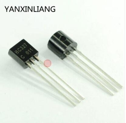Новый триодный транзистор BC327 TO92 100-40, 327 шт.