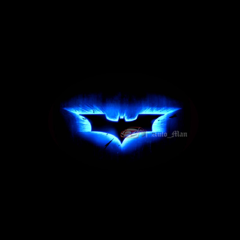 Aliexpress Buy 2x 3d Blue Dark Knight Batman Logo Wired Car