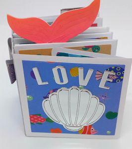 Image 2 - Gestanst Metaal Snijden sterven fotoalbum geheugen boek Sterven Tag Hart Alinacraft Plakboek Papercraft DIY Card Stencil Cutter Punch