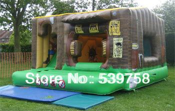 Factory direct nadmuchiwane zjeżdżalnie nadmuchiwany zamek nadmuchiwana trampolina ślizgacz trampoliny tanie i dobre opinie Duża trampolina Nadmuchiwany plac zabaw dla dzieci 5*5m 3 lat Plac zabaw na świeżym powietrzu