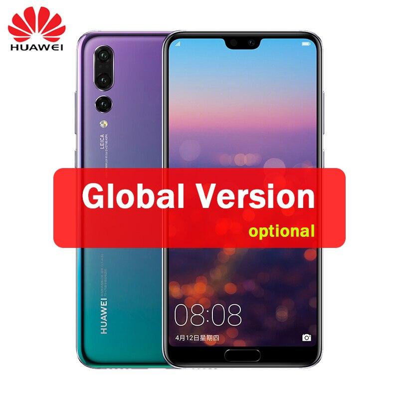 Huawei P20 Pro глобальная Версия Дополнительно полный LTE Band смартфон 40MP тройной камеры заднего 6,1 дюймов экран SuperCharge NFC