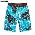 Nuevo 2017 shorts hombres beach summer shorts flor plaid stripe star muchos estilos pareja traje causal desgaste chándal