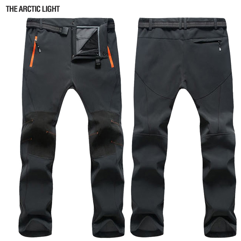 THE ARCTIC LIGHT Winter Outdoor Windproof Snowboard Ski Pants Men Snow Trousers Waterproof Windproof Warm Breathable