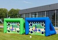 Hot Sport Games football goal for sale inflatable football goal post inflatable rugby goal post
