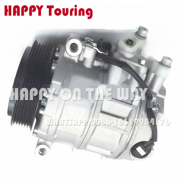 US $146 85 11% OFF|For Mercedes ac compressor for MERCEDES BENZ S CLASS  W220 S55 S350 S430 S500 S320 S280 A0012301411 A0012301711 A0012308111-in