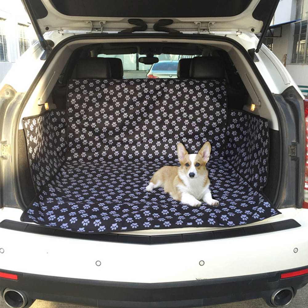 GLCC Pet Car Seat Cover Large Car Trunk Pad Protection Pad Non-slip Large Pet Cushion Durable Car travel pad Dog Carriers pet dog carrier car seat pad safe carry house cat puppy bag car travel accessories waterproof dog seat bag basket pet products