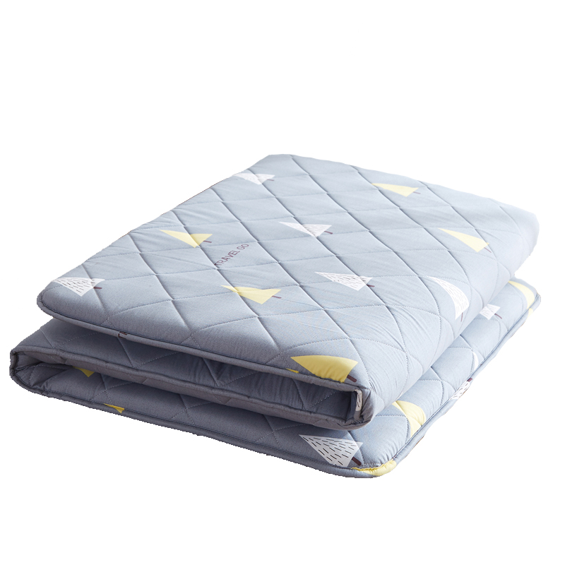 Japanese Tatami Floor Mat Sleeping Bed Foldable Futon Mattress Topper Comfort Portable Folding Single Double Bed Guest Mattress