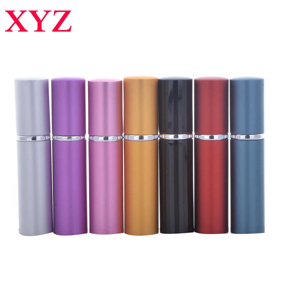 1 buc 5ML 7Colors Mini Empty Traveler Spray metalic Recomandabil Portable Parfum Atomizer Bottle & Empty Cosmetic Containers