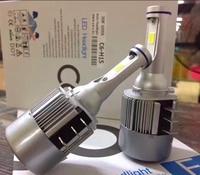 2x H15 72W 7600Lm Wireless Led Car Headlight Lamp Conversion Kit Driving Bulb DRL Car Light