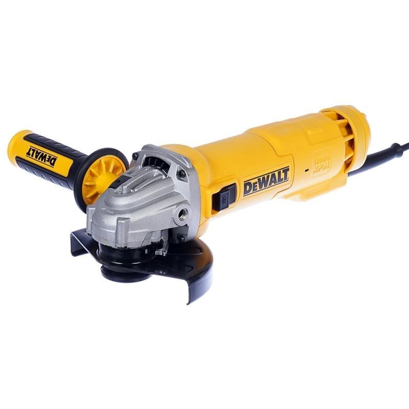 цена на Machine grinding angle DeWalt DWE4205 (Disc 125mm, power 1010 W, motor protection)