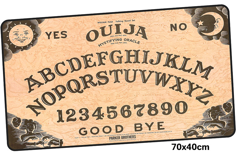 ouija board mousepad gamer 700x400X3MM gaming mouse pad Halloween Gift notebook pc accessories laptop padmouse ergonomic mat