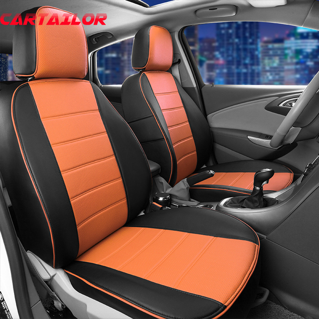 CARTAILOR Quality Seat Covers For Ford Escape Kuga Car Seat Cover Interior  Accessories Artificial Leather Seats